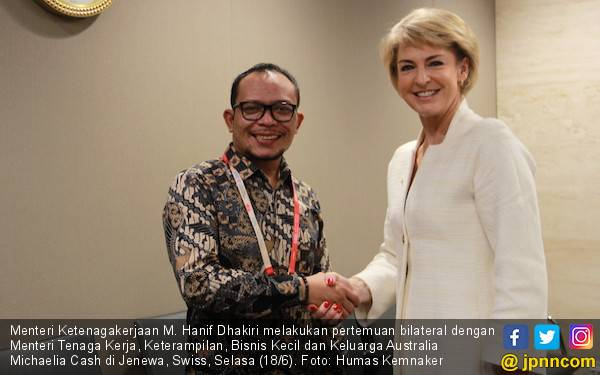 Menaker Australia Puji Dialog Sosial di Indonesia - JPNN.com