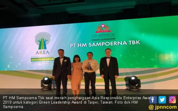 HM Sampoerna Sabet Penghargaan Asia Responsible Enterprise Award 2019 - JPNN.com