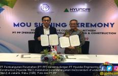 Gandeng Perusahaan Asing, PT PP dan Hyundai Jalin Kerja Sama - JPNN.com