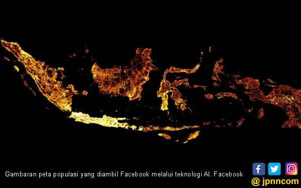 Facebook Bikin Peta Populasi Pakai AI - JPNN.com