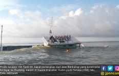 Tabrak Batang Pohon, Kapal Ikan asal Balikukup Karam di Muara Manubar - JPNN.com