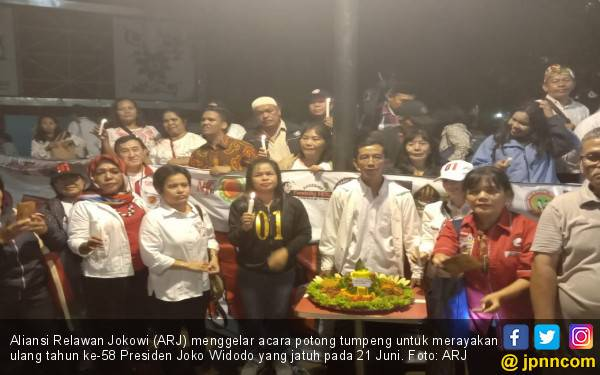 Doa dari ARJ untuk Jokowi - JPNN.com