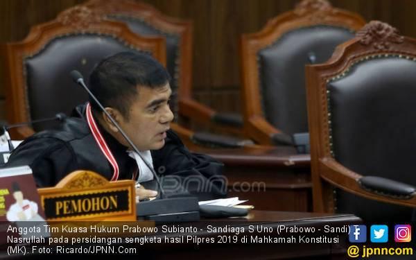 Nasrullah Tak Rela Jika Saksi Kubu Prabowo - Sandi Dipidana - JPNN.com