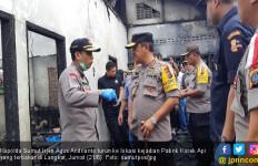Pabrik Korek Api yang Terbakar di Langkat Ternyata Tak Miliki Izin - JPNN.com