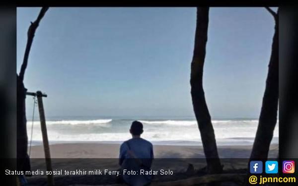 Mantan Pemain Persis Ferry dan Putrinya Hilang Digulung Ombak - JPNN.com