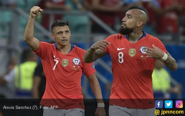 Kolombia vs Chile: James Rodriguez Ganas, Alexis Sanchez Buas - JPNN.com