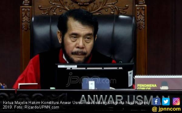 Ketua MK Anwar Usman Menghilang, Satu Jam Kemudian.. - JPNN.com
