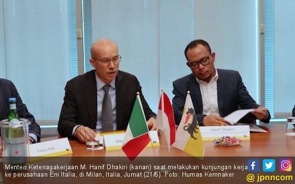 Indonesia - Italia Menjajaki Kerja Sama Peningkatan Kualitas SDM Indonesia - JPNN.com
