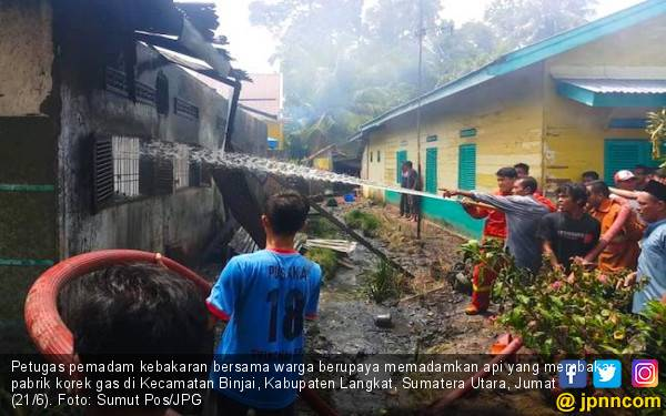 Tragedi Pabrik Korek Api di Binjai Renggut 30 Jiwa, Polisi Jerat 2 Tersangka - JPNN.com
