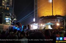 Puncak Perayaan HUT Jakarta, Bundaran HI Dipadati Warga - JPNN.com
