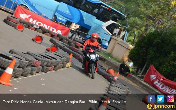 Test Ride Honda Genio: Mesin dan Rangka Baru Bikin Lincah - JPNN.com