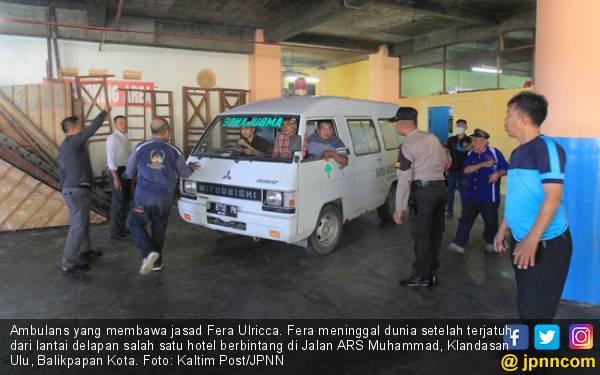 Anak Pemilik Hotel di Balikpapan Meninggal usai Jatuh dari Lantai 8 - JPNN.com