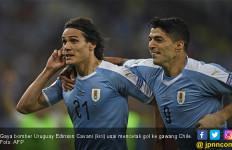 Lihat, Gol Tunggal Cavani Membuat Uruguay jadi Juara Grup C Copa America 2019 - JPNN.com