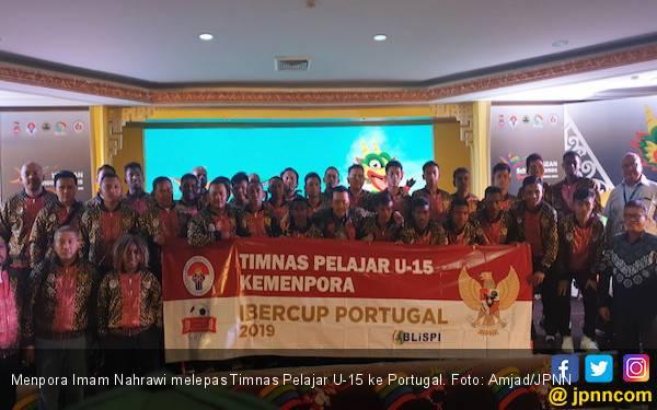 Belum Pernah Kalah, Timnas Pelajar U-15 Juara Grup B IBER Cup 2019 - JPNN.com