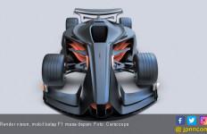 Gambaran Mobil Balap F1 Masa Depan - JPNN.com