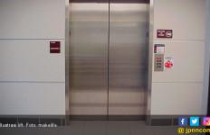 Husen Nyaris Kehilangan Kaki Akibat Bercanda di Dalam Lift - JPNN.com