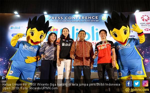 Tuan Rumah Targetkan Satu Gelar di Blibli Indonesia Open 2019, Semoga Bisa Dua - JPNN.com