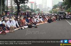 Massa Aksi Kawal MK Berjanji Bubar Pukul 17.00 - JPNN.com