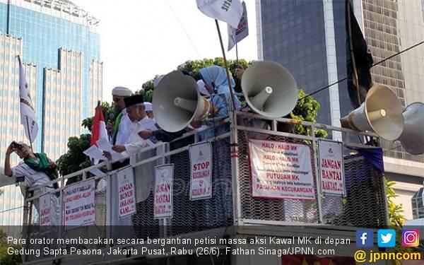 Ini Petisi dari Massa Aksi Kawal MK, Aneka Kezaliman Disebut - JPNN.com