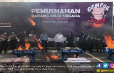 Bea Cukai Pangkalan Bun Musnahkan Jutaan Batang Rokok Ilegal - JPNN.com