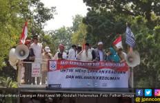 Peserta Aksi Kawal MK Keracunan, Abdullah Hehamahua Salahkan Kaki Lima - JPNN.com