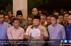Prabowo Mengakui Jokowi - Ma'ruf Menang Pilpres 2019, Nih Buktinya - JPNN.com