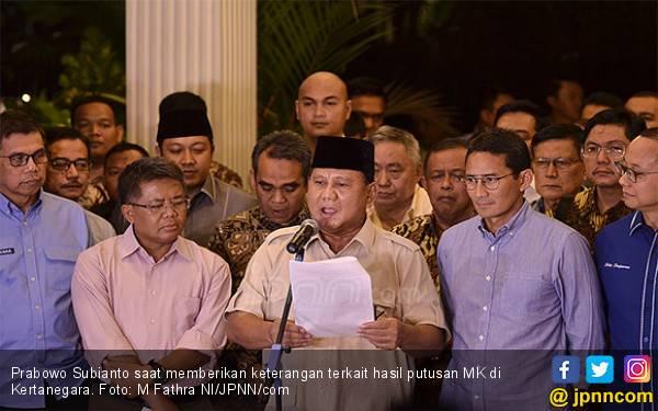 Dinilai Sudah Legawa, Pernyataan Prabowo Sangat Menyejukkan - JPNN.com