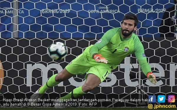 Menegangkan, Brasil Lolos ke Semifinal Copa America 2019 dengan Superdramatis - JPNN.com