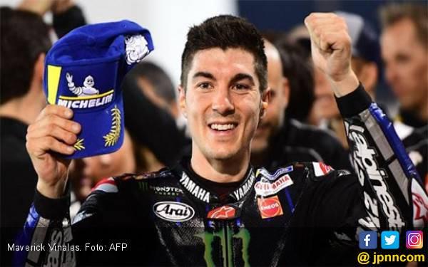 Hasil FP2 MotoGP Belanda: Vinales Unjuk Gigi, Rossi Urutan Sembilan - JPNN.com