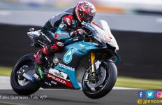 Sensasional! Fabio Quartararo Pecahkan Rekor Lap Terbaik di MotoGP Belanda, Rossi Gigit Jari - JPNN.com