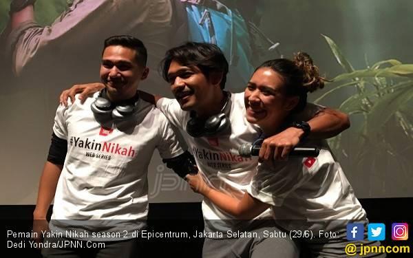 Ibnu Jamil dan Westny DJ Berpasangan di Yakin Nikah 2 - JPNN.com