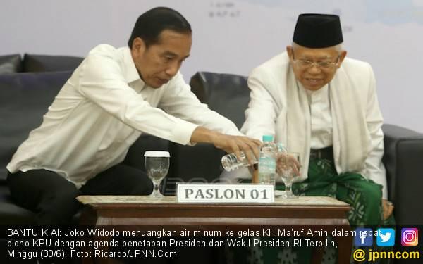 Jokowi Bakal Dilantik untuk Periode Kedua, Kiai Ma'ruf Kebagian Bikin Acara Doa - JPNN.com