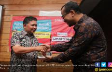 Smartfren Hadir di Anambas, Ada Gratis Internet Unlimited - JPNN.com