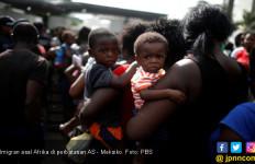 Imigran Afrika Telantar di Perbatasan Amerika Serikat - JPNN.com