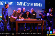 Rayakan Hari Jadi Ke-16, FORWOT Bekali Jurnalis untuk Selalu Kreatif - JPNN.com
