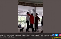 Perempuan Pembawa Anjing Masuk Masjid Itu jadi Tersangka Penistaan Agama - JPNN.com