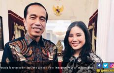 Unggah Foto Bareng Jokowi, Angela Tanoesoedibjo Didoakan Jadi Menteri - JPNN.com