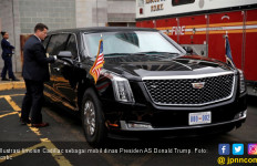 Intip Limosin Donald Trump, dari Antipeluru Hingga Kulkas Penuh Darah - JPNN.com