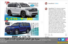 BMW dan Toyota Dihebohkan Proyek Land Cruiser Terbaru - JPNN.com