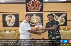 Respons Panglima TNI Saat Menerima Panglima Armada Pasifik AS - JPNN.com