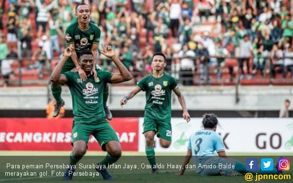 Persebaya 3 vs 2 Persela: Song For Pride Akhirnya Berkumandang - JPNN.com