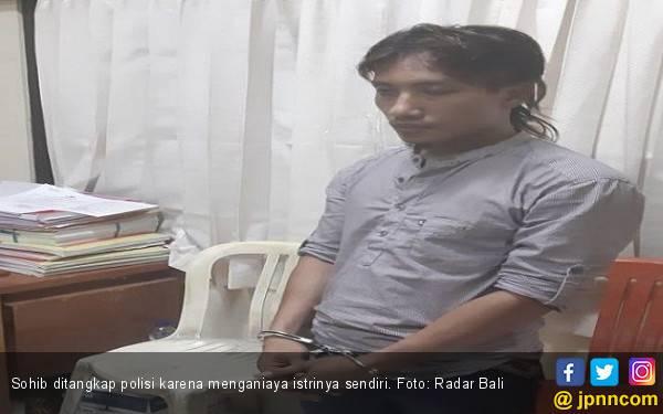 Jangan Ditiru, Sohib Pria Cemburuan, Istrinya Diancam Celurit-Dicambuk Pakai Kabel - JPNN.com