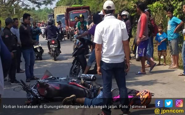 Truk vs Motor di Bogor, Satu Tewas - JPNN.com