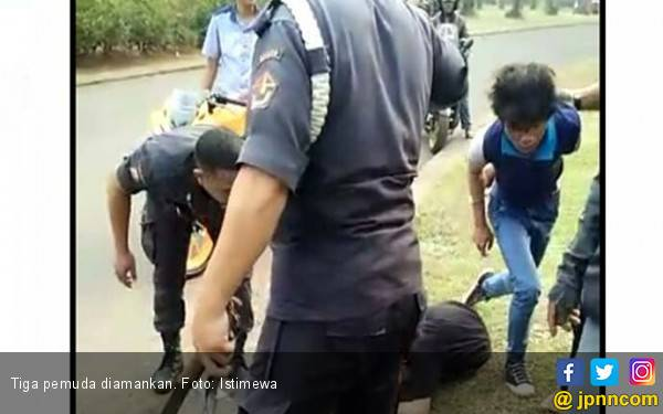 Diduga Begal, Tiga Pemuda Diamankan - JPNN.com