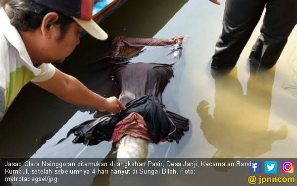 4 Hari Dicari, Jasad Balita Clara Ditemukan 5 Kilometer dari Lokasi Kejadian - JPNN.com