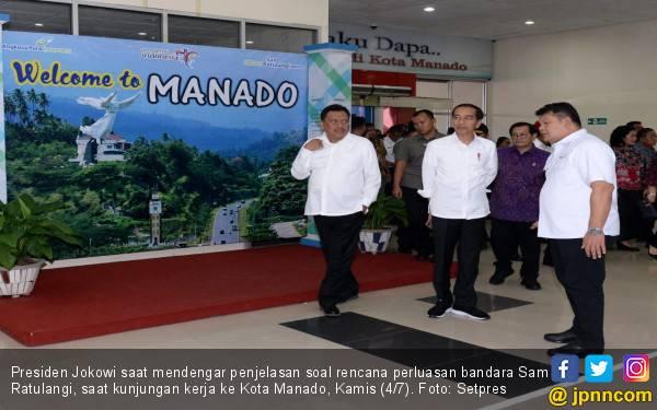 Jokowi: Terminal Baru Bandara Sam Ratulangi Dibangun September - JPNN.com