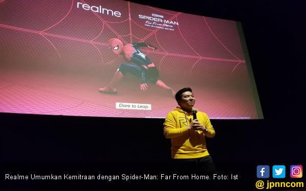 Realme Umumkan Kemitraan dengan Spider-Man: Far From Home - JPNN.com