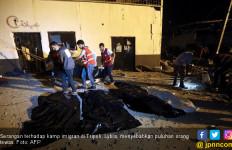 Kamp Imigran di Lybia Dibombardir, Puluhan Anak-Anak Jadi Korban - JPNN.com