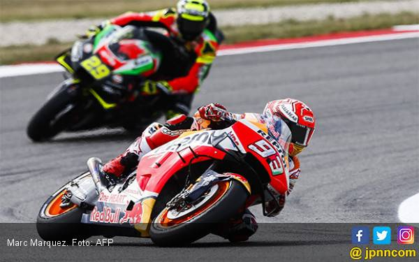 Marc Marquez Unjuk Gigi di FP2 MotoGP Jerman - JPNN.com