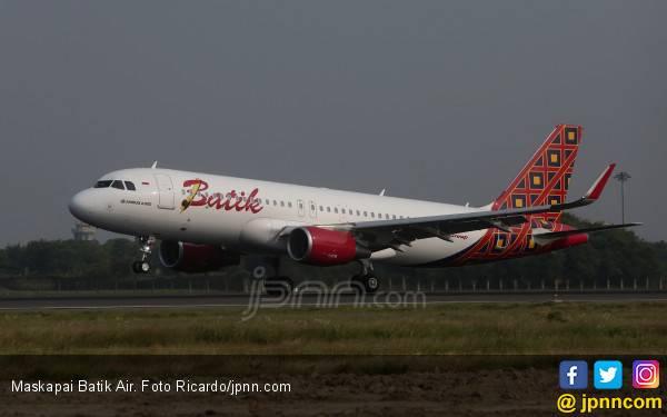 Batik Air Datangkan Pesawat Baru Airbus 320-200CEO yang ke-44 - JPNN.com
